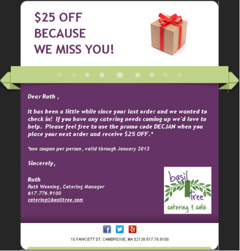 Basil Tree Email